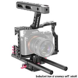 Neewer Film Movie Making Camera Video Cage Kit with Handle f