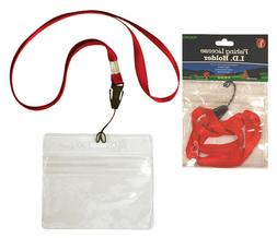 SE - Fishing License/ID Holder, 32in. Long, Assorted Colors,