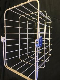 Wald Front Quick Release Basket with Bolt-On Mount: White