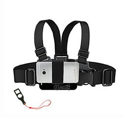 Junior Size GoPro Chest Mount with Action Mount Adapter for