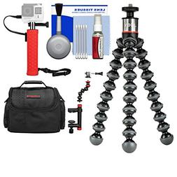 Joby GorillaPod 500 Flexible Tripod with Case + Hand Grip +
