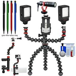 Joby GorillaPod Mobile Tripod Rig with Clamp and GorillaPod