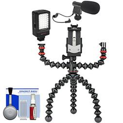 Joby GorillaPod Mobile Tripod Rig with Microphone + LED Vide