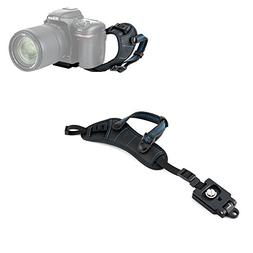 JJC Camera Hand Grip Strap with Arca Type Plate for Canon Re