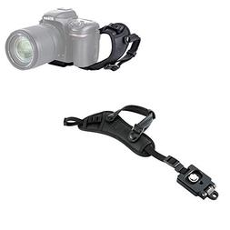 JJC Camera Hand Grip Strap with Arca Type Plate for Nikon Co