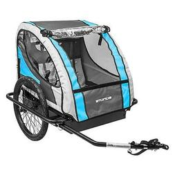 Sunlite Hard Shell Deluxe Trailer Tot Bicycle Trailer - Blue