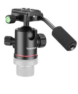 Neewer Heavy Duty Camera Tripod Ball Head with Handle for Tr