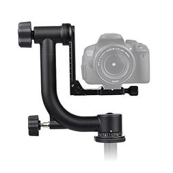 Andoer Heavy Duty Metal Panoramic Gimbal Tripod Head Use for