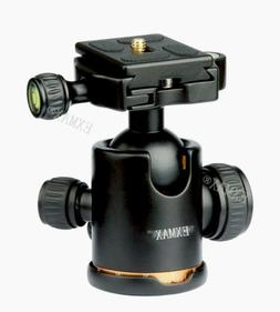 EXMAX Heavy Duty Photography Tripod Ball Head with Quick Rel