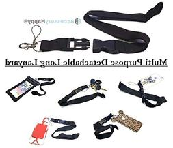 AccessoryHappy Heavy-Duty Replacement Universal Neck Strap L