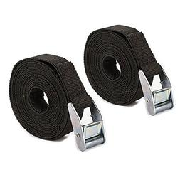 V.one Heavy Duty Tie Down Straps with Cam Buckle 2 PK - 9.90