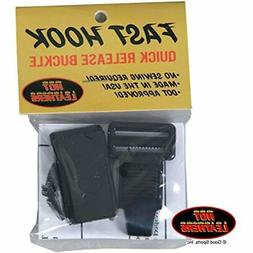 Helmet Chin Strap Quick Release By Fast Hook Automotive