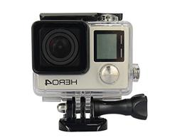 Housing Case Transparent for GoPro Hero 4 3 Plus Waterproof