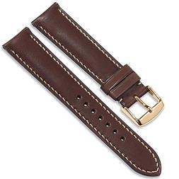 iStrap Quick Release Leather Watch Band Wrist Calf Strap Men