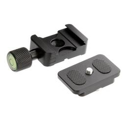 """K30 Clamp + 1/4"""" Mount QR Quick Release Plate 30mm for Benro"""