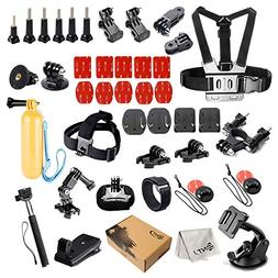 SNT Sport Accessories Kit for GoPro 4 3+ 3 2 1 SJ4000 SJ5000