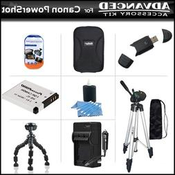 Accessories Bundle Kit For Canon PowerShot A3300 IS, A2200 I