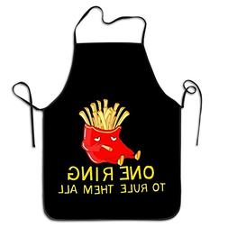 Unisex Kitchen Aprons One Ring To Rule Them All Chef Apron C