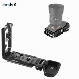 L-Bracket Tripod Quick Release Plate Grip Holder For Sony A7