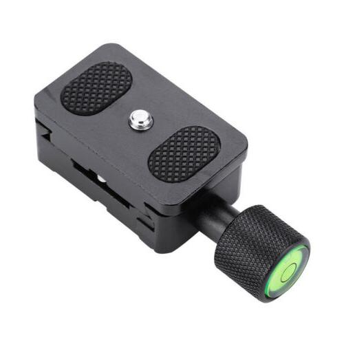 Clamp Quick Release QR Plate For Monopod Ball DSLR