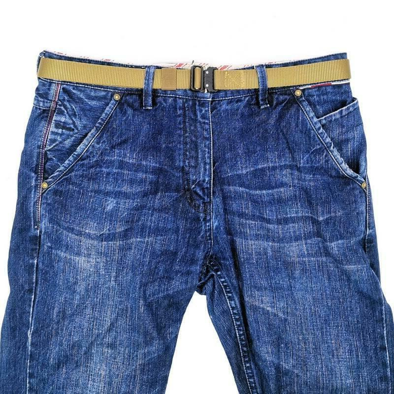 1 Inch Mens Skinny Blet with Quick Release Buckle for Jeans