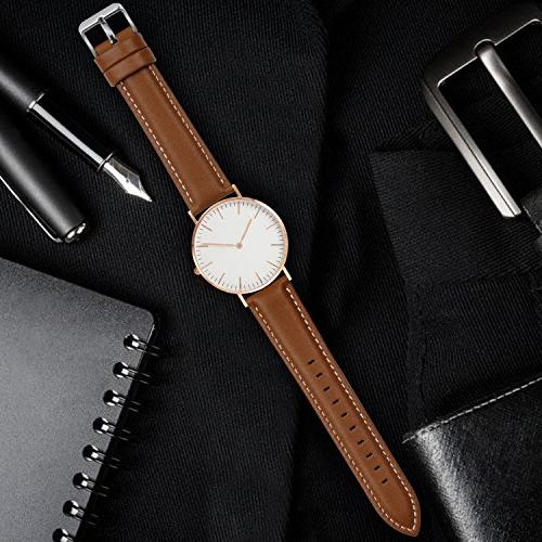 12 Colors for Release Watch Fullmosa Genuine Leather