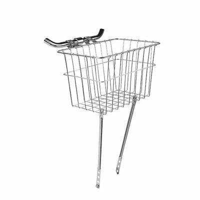 135 front grocery bicycle basket