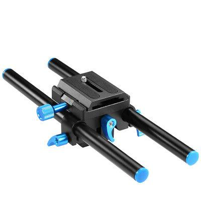 Neewer 15mm Alluminum Alloy Universal Rail Rod System Mount