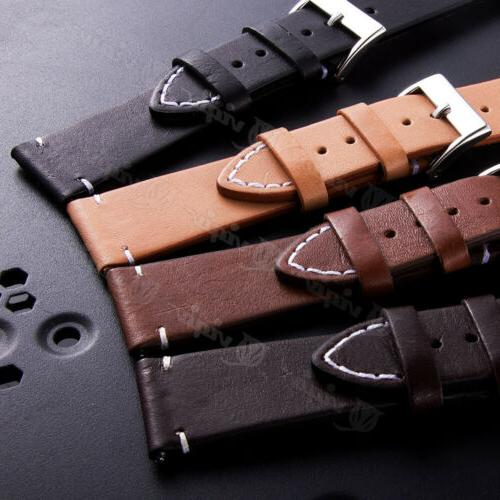 Genuine Leather Quick Release Wrist Watch For Fossil