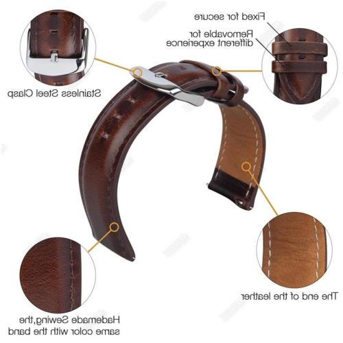 Quick Leather Band For Founder Gen 1
