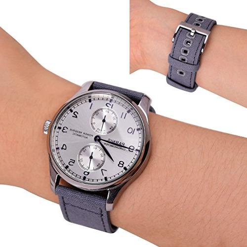 18mm Canvas Quick Release Watch Watch Straps Men Women