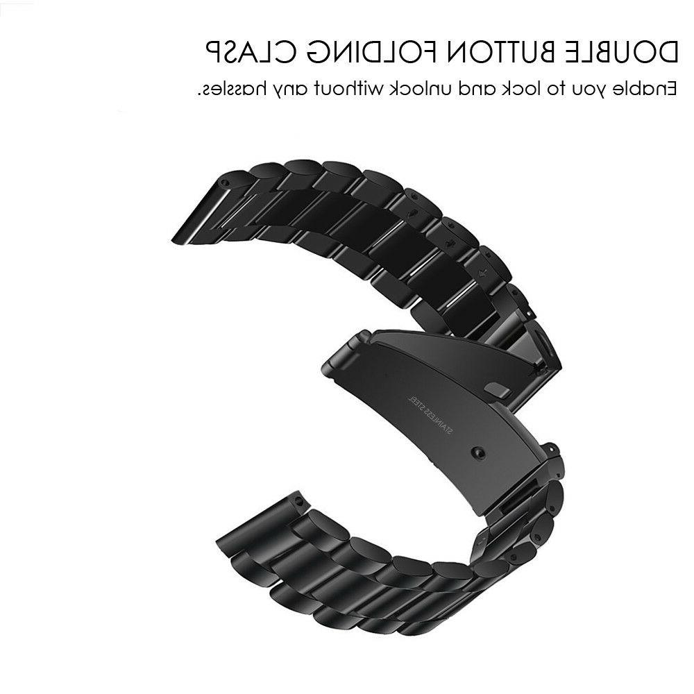 2 Release Stainless Steel Band For Garmin 3
