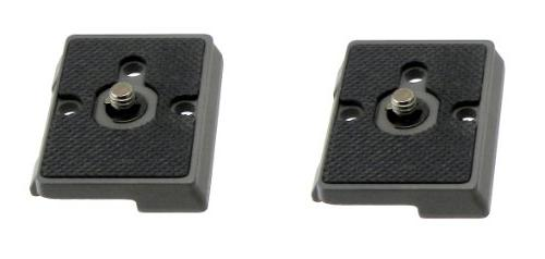 2 x QR Plate for Bogen Manfrotto 3157N Tripod Head 3157 N