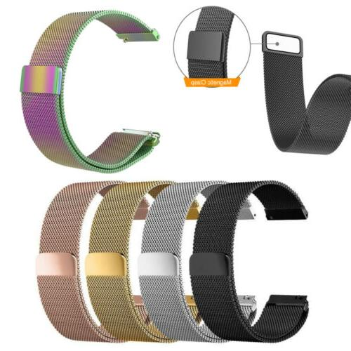20mm 22mm quick release watch band w