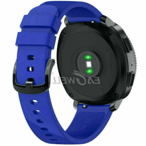 20MM Release Sports Soft Silicone Watch For Samsung Classic