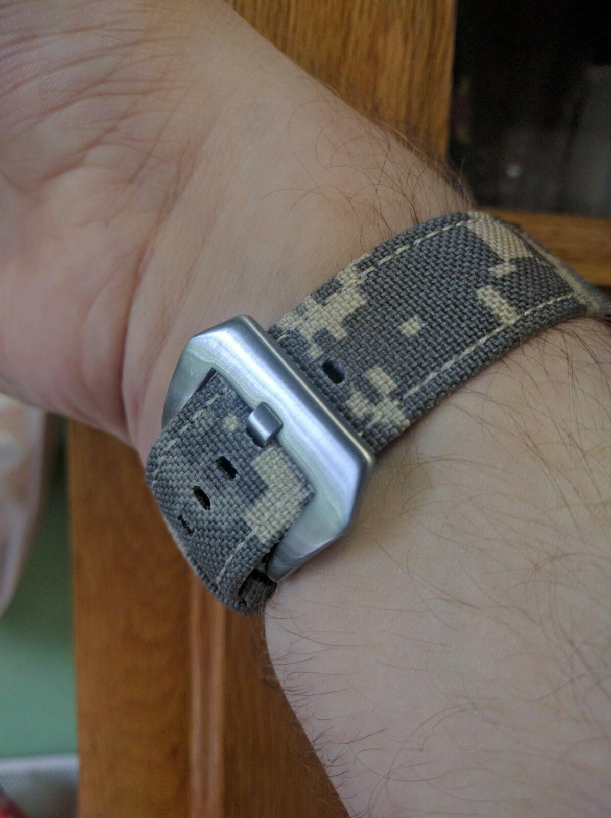 22mm Canvas Release Camo Band Samsung Gear Classic