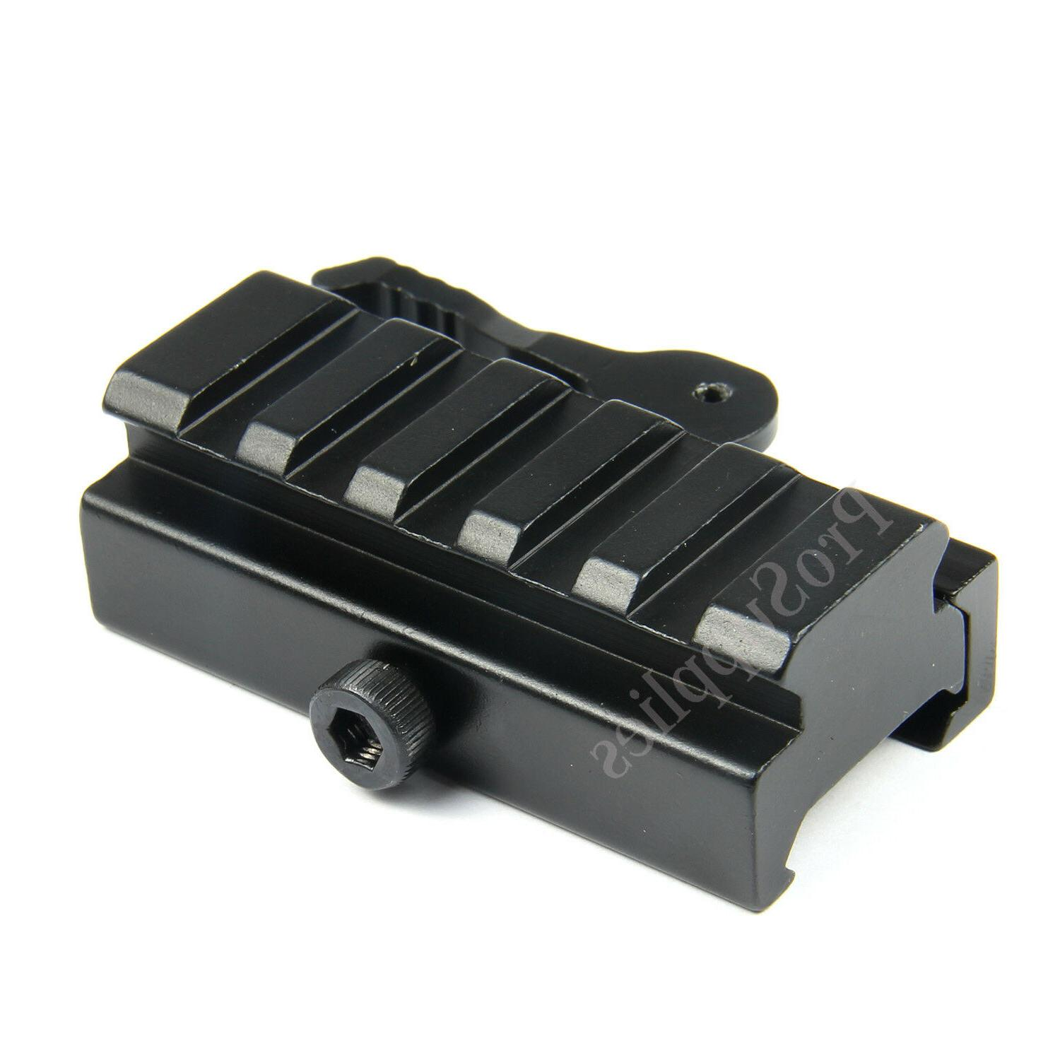 "5-Slot QR 1/2"" Riser Mount for Rail"