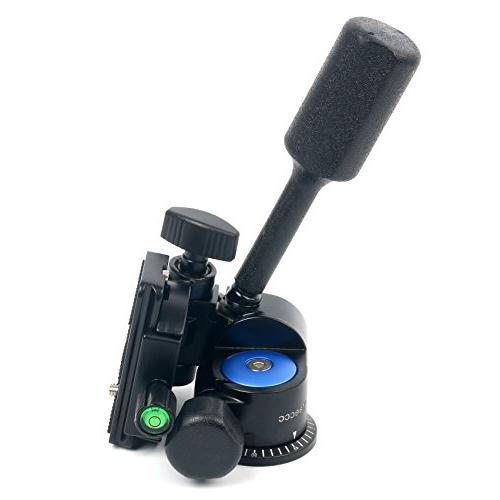 YaeCCC Handle Hydraulic Damping Three-dimensional with Quick for Tripod