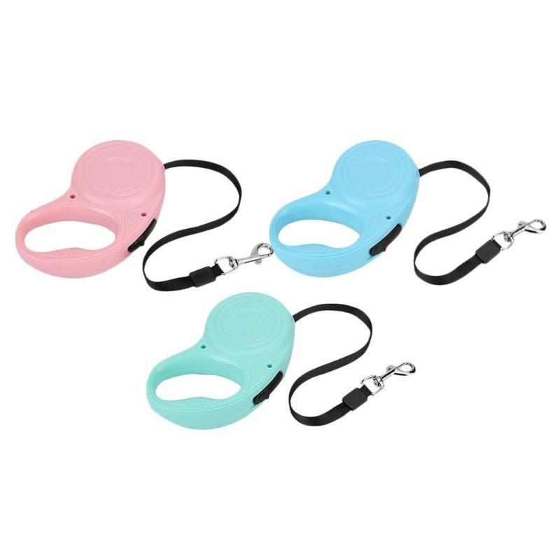 3M/5M Retractable Dog Automatic Dog Puppy Cat Traction Rope Dog Small Medium Pet Products