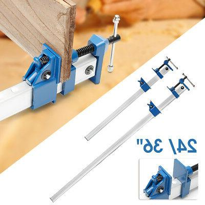 4PCS 24/36'' Quick Release F-Clamp Bar Clamp Woodworking Woo