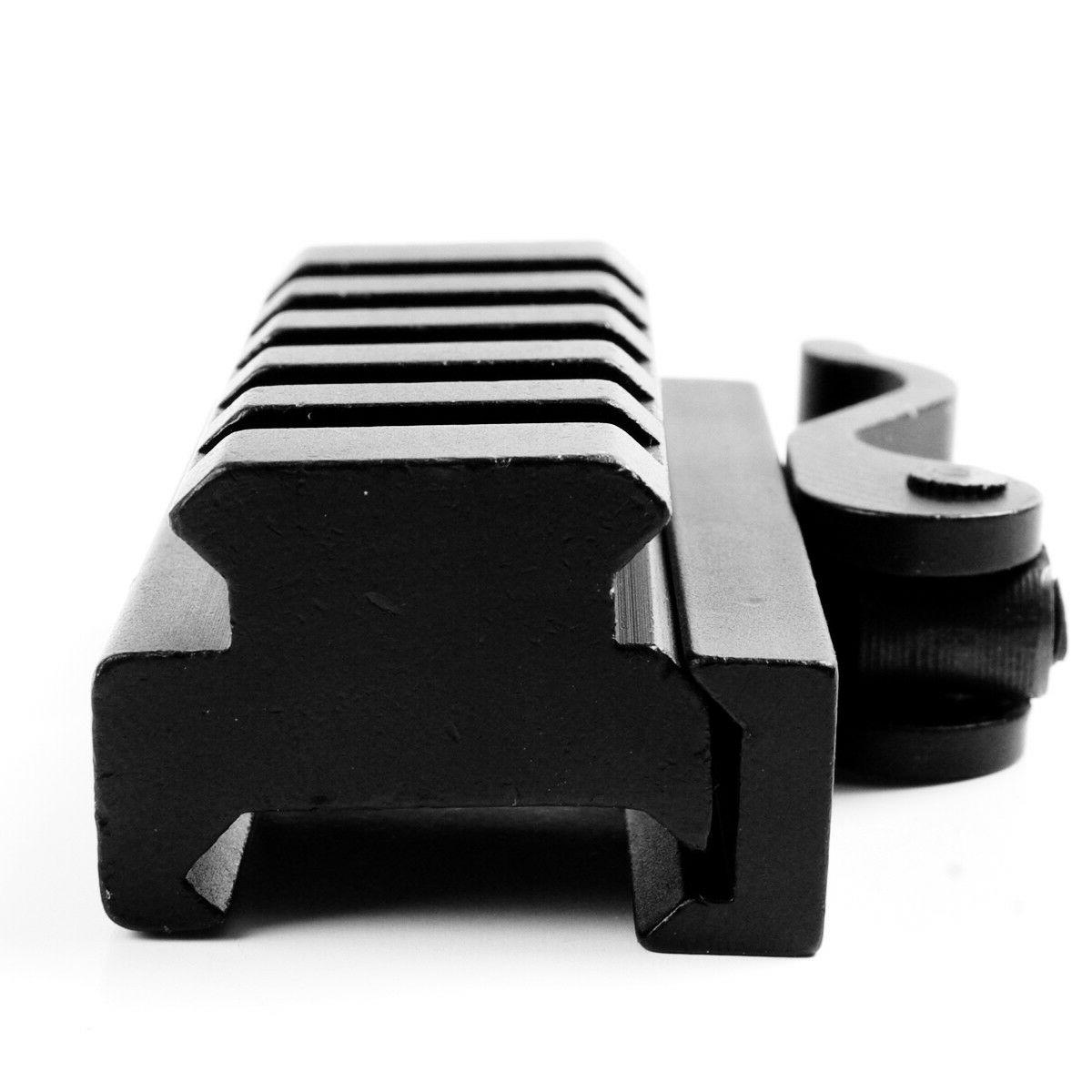5 Slots QD Riser Release Adapter for 20mm Picatinny Rail