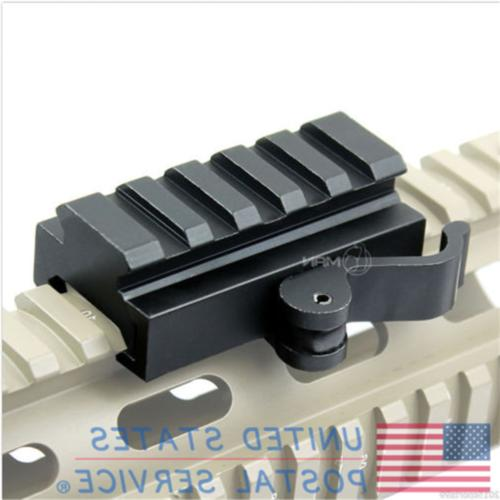 5 Slots Tactical Quick Adapter Rail Picatinny Weaver