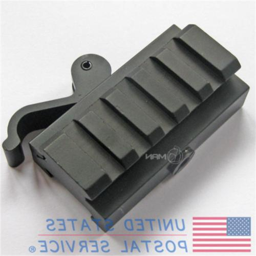 5 Tactical Hunting Quick Release Scope Adapter Rail