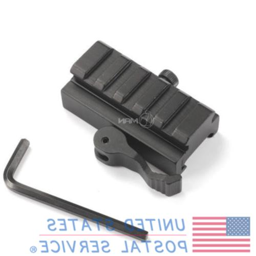 5 slots tactical hunting quick release scope
