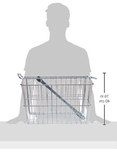 Wald Twin Bicycle Carrier Basket