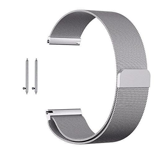 BIGTANG Vivoactive 3 Watch Band, 20mm Quick Release Milanese