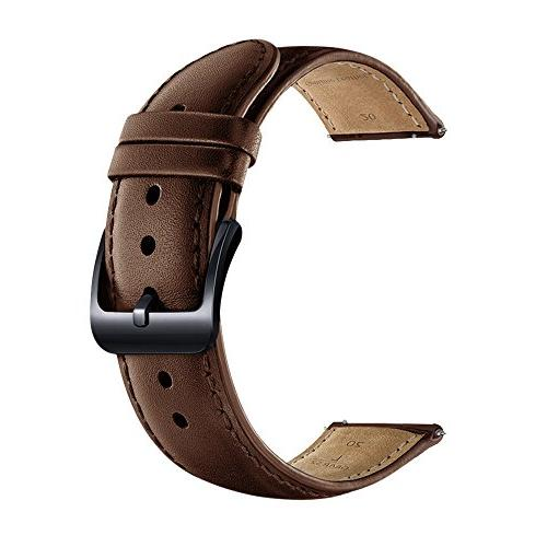 LEUNGLIK 20mm Watch Band Quick Release Leather Watch Bands w