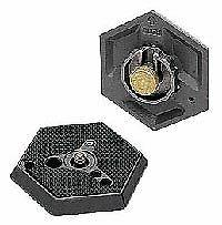 Manfrotto 030- 14 Replacement Hexagonal Quick Release Plate