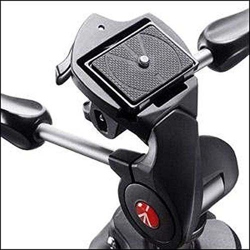 Manfrotto MKCOMPACTADV-BK Tripod with Head