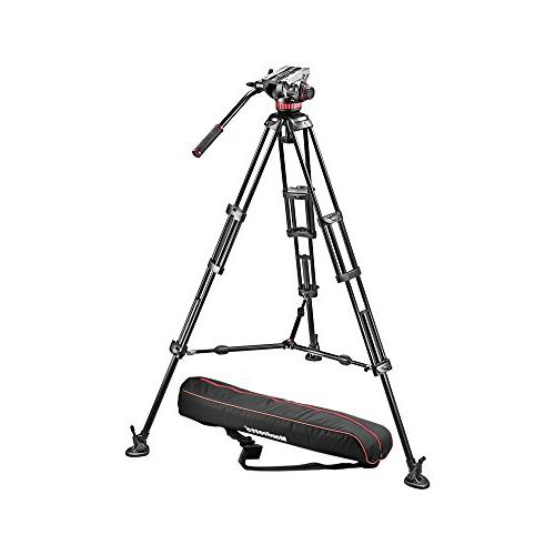 Manfrotto MVH502A,546BK-1 Professional Fluid Video System wi